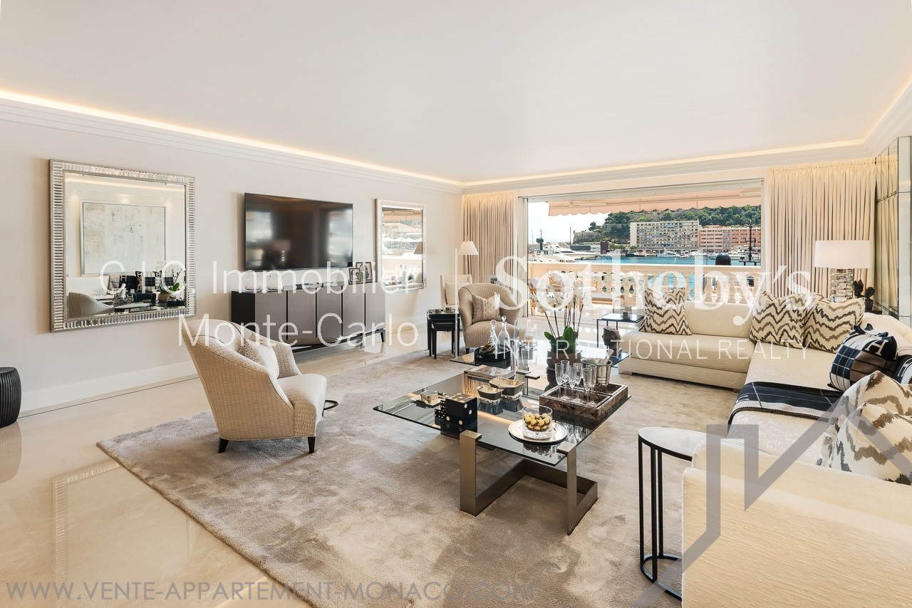 Prestigious apartment overlooking the Port - Properties for sale in Monaco