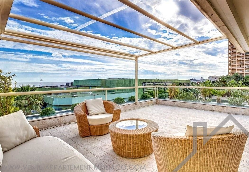 LARVOTTO- MAGNIFICENT PENTHOUSE - Properties for sale in Monaco