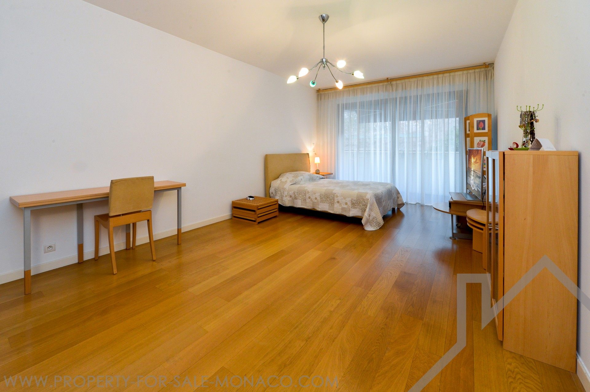 SPACIOUS ONE-ROOM APARTMENT TO SALE - CARRE D'OR - Properties for sale in Monaco