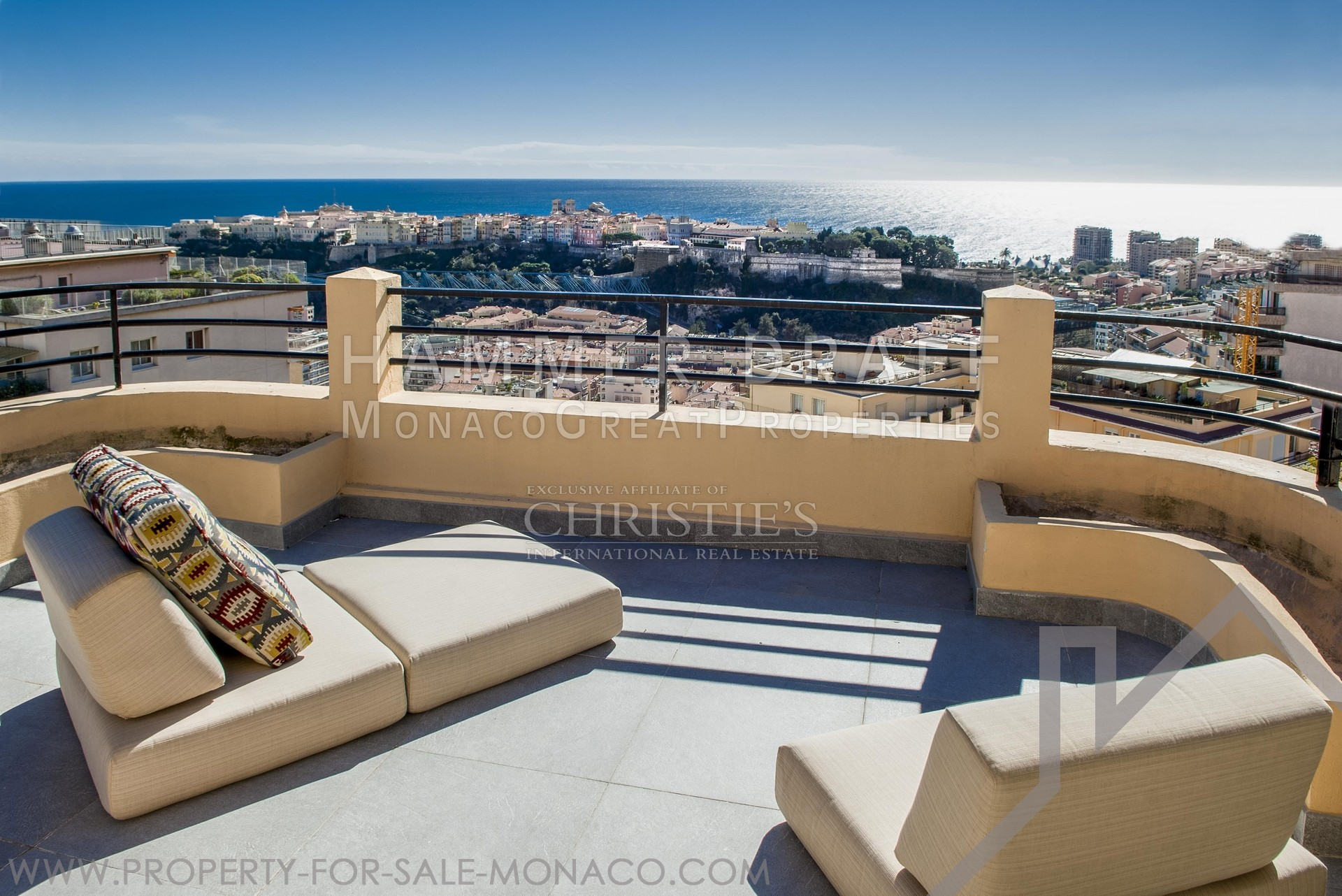 An eagle's nest above Monte-Carlo - Properties for sale in Monaco