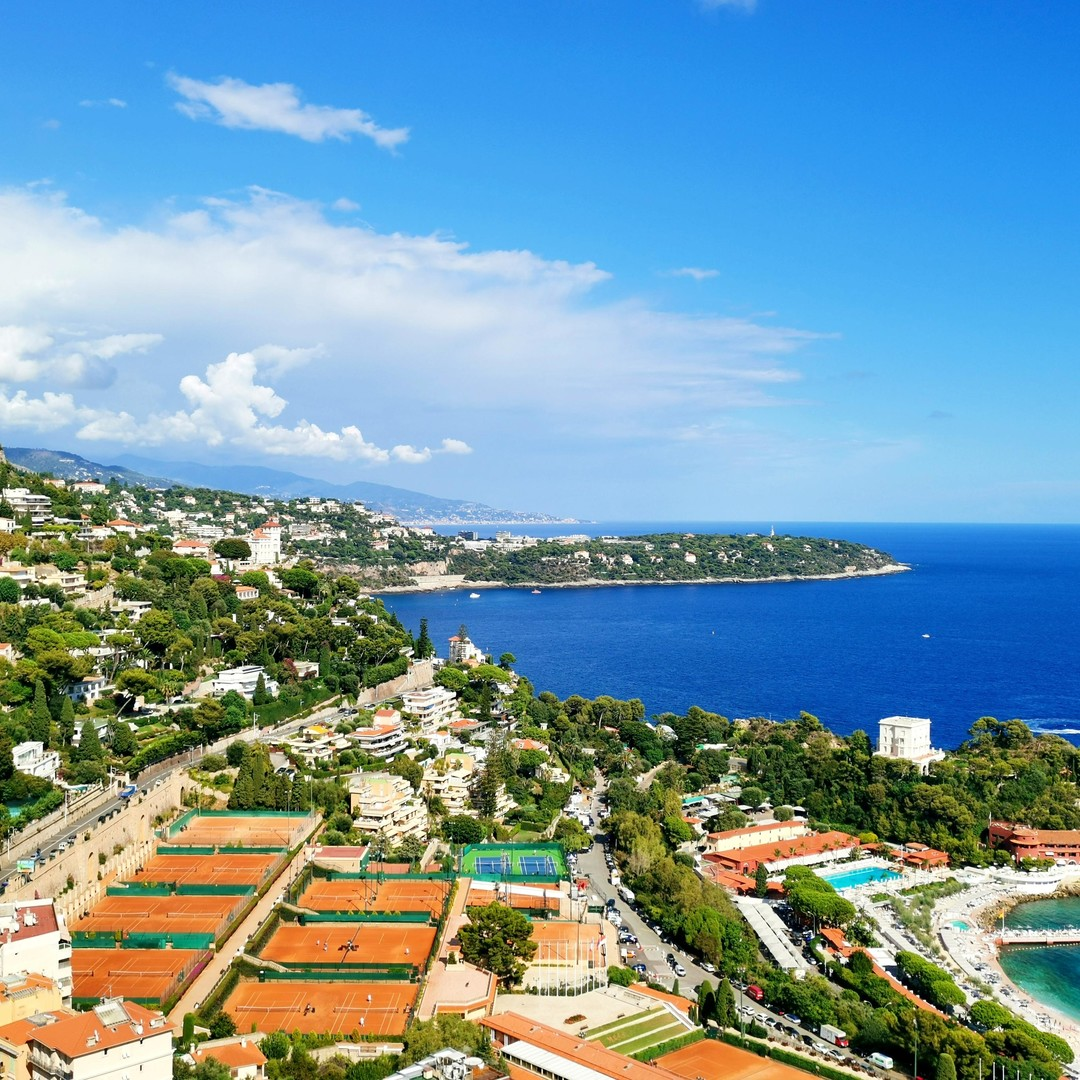 SAINT ROMAN: RENOVATED 2 BEDROOMS FLAT  WITH PANORAMIC SEA VIEW - Properties for sale in Monaco