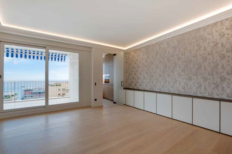 Beautiful one-room appartment with sea view