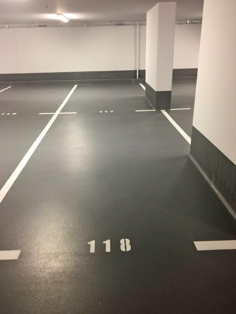 Double parking space in lenght