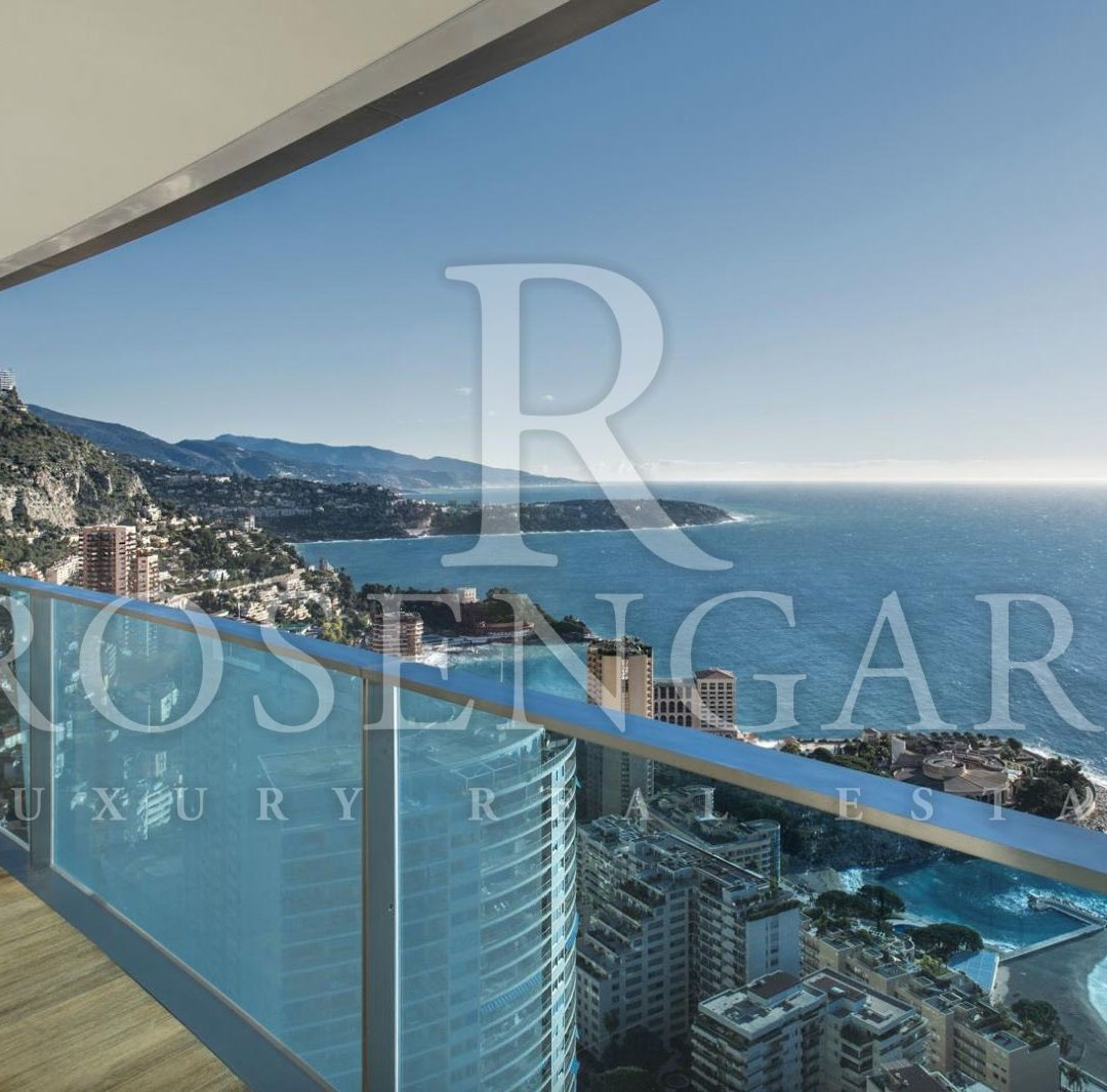 5 room apartment above Monaco with sea view