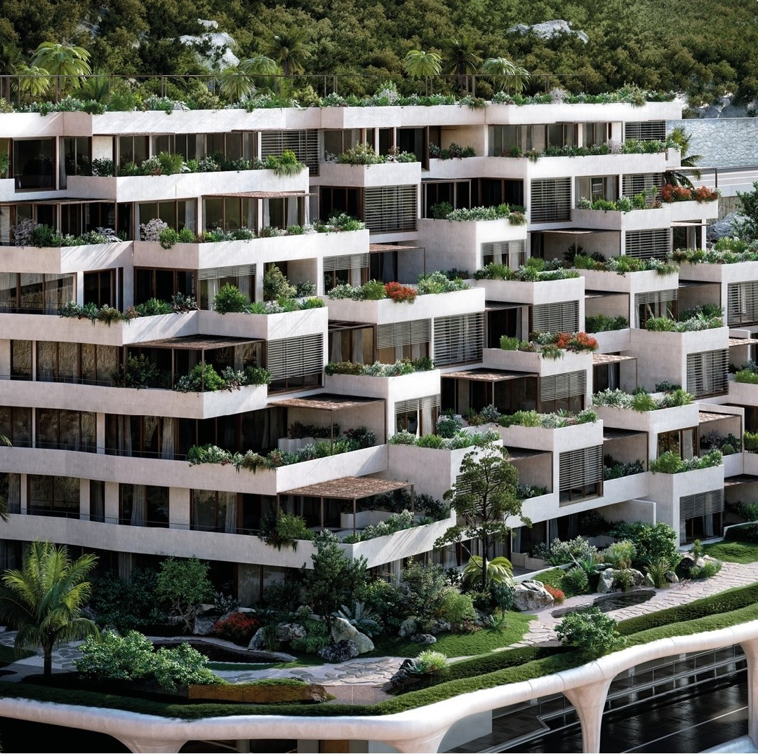 2 BEDROOM APARTMENT IN A NEW LUXURIOUS DEVELOPMENT - L'EXOTIQUE